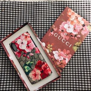Brand new Gucci flower iPhone X case